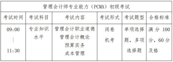 办理管帐师专业才能(PCMA)初级ope体育平台